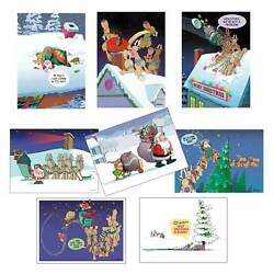Kyпить Assorted Funny Christmas Cards - 24 Boxed Christmas Cards and Envelopes - 99 на еВаy.соm