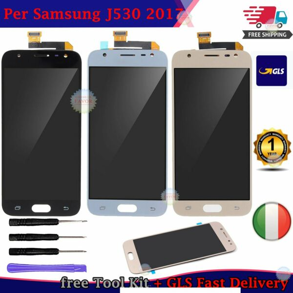 OLED ASSEMBLY Per SAMSUNG Galaxy J5 2017 J530F LCD Display Screen Digitizer GLS