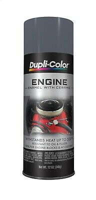 Dupli-Color Engine Paint With Ceramic New Ford Gray 12 oz. Aerosol