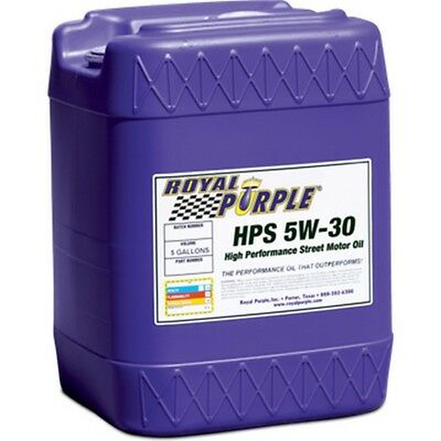 ROYAL PURPLE 35530 HPS Multi-Grade Motor Oil 5W30 5 Gallon Pail