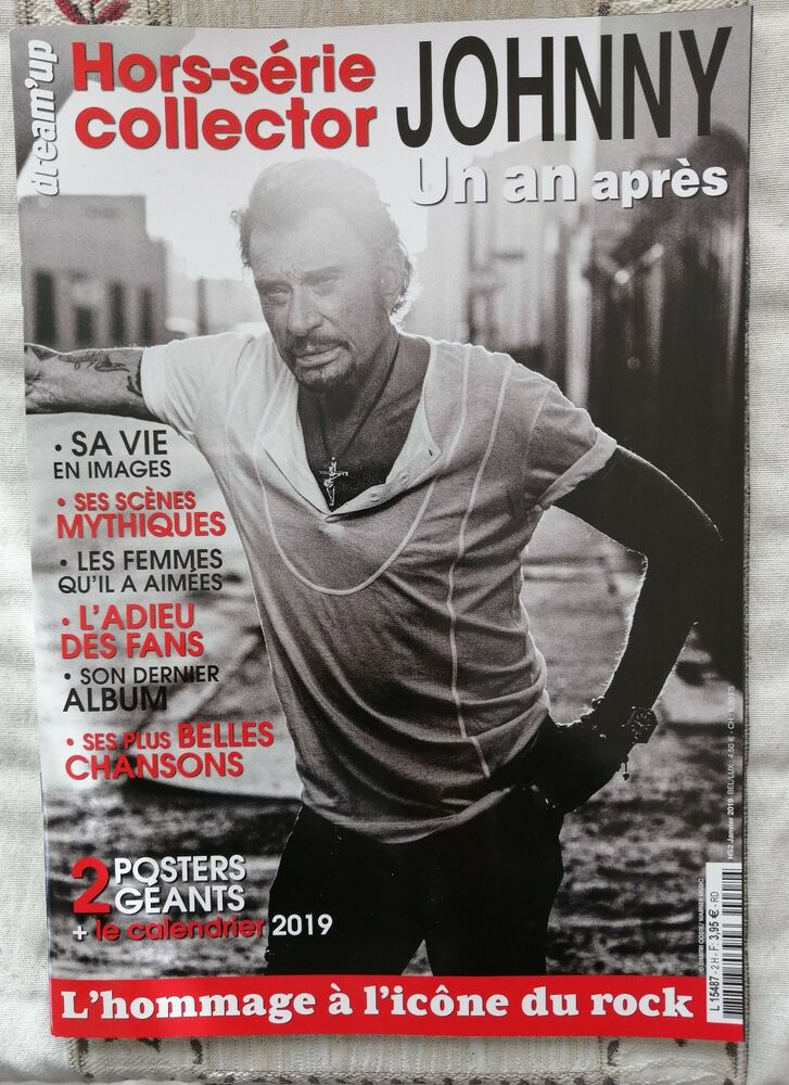 Calendrier Des Geants 2019.Johnny Hallyday Magazine Hors Serie Collector Calendrier 2019 2 Posters Neuf Ebay