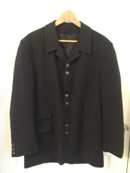 Men's Navy Single Breasted Wilson Tailoring Suit Jacket - Size 38