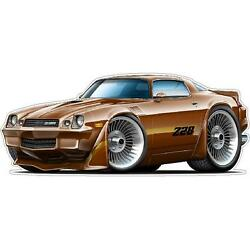 1979 Chevy Camaro Z28 Wall Art Decal Sticker Graphic Poster Man Cave Decor