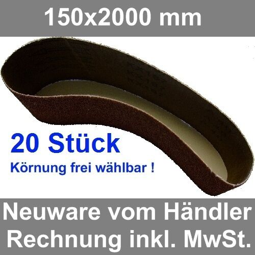 Woltersberger Bandes abrasives Taille 50 x 686 mm
