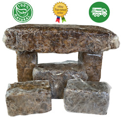 Kyпить Raw African Black Soap PREMIUM QUALITY Organic Unrefined 100% Pure Natural Ghana на еВаy.соm
