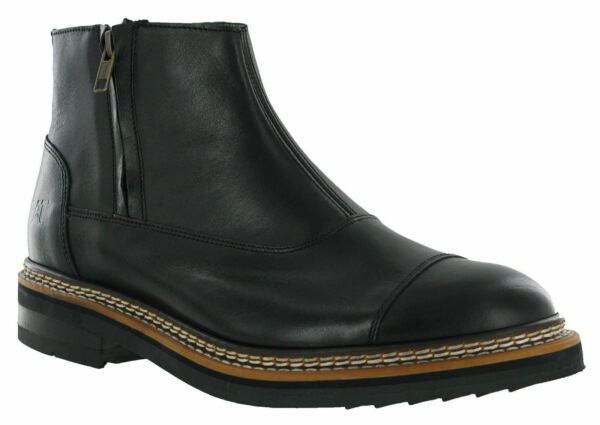 CAT Caterpillar Adner Chelsea Boots Mens Leather Zip-Up P720355 UK6-12