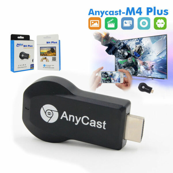AnyCast M4 Plus WiFi Affichage Dongle Récepteur Airplay Miracast'HDMI TV DLNA SE