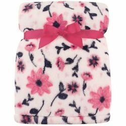 Kyпить Hudson Baby Girl Super Plush Blanket, Pink Floral на еВаy.соm