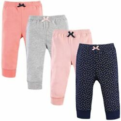 Kyпить Luvable Friends Girl Tapered Ankle Pants, 4-Pack, Gold Dots на еВаy.соm