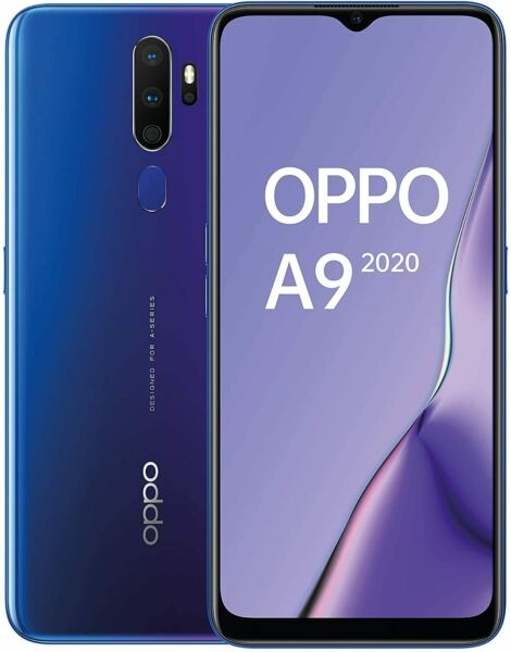 Smartphone OPPO A9 2020 Space Purple 128 GB Dual Sim Fotocamera 48 MP 5457581