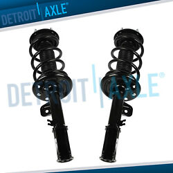 FWD Pair Front Struts w/Springs Shocks for 2014 2015 2016 2017 Ford Explorer
