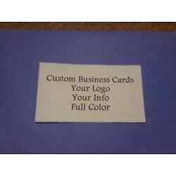 Kyпить Custom Full Color Business Cards 100 Cards Free Shipping на еВаy.соm