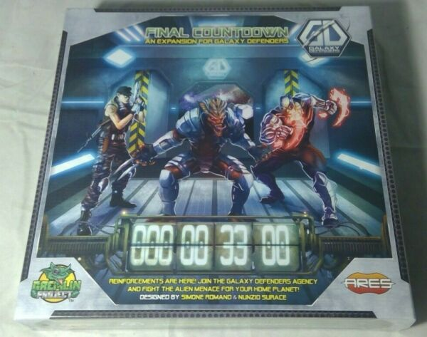 GALAXY DEFENDERS FINAL COUNTDOWN EXPANSION BOARD GAME BRAND NEW & SEALED