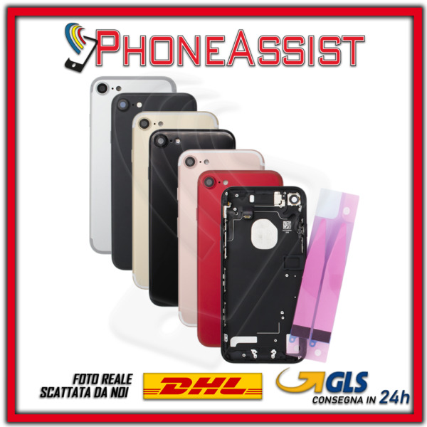 SCOCCA POSTERIORE + FLEX Apple iPhone 7 7G TELAIO BACK COVER HOUSING