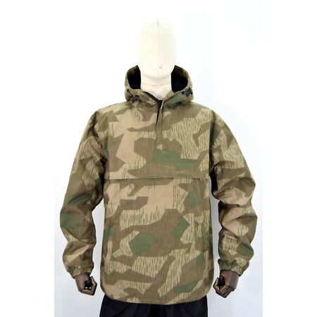 img-German Army WW2 Splinter Camouflage Anorak Fur Lined Showerproof Windproof Smock