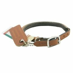Coastal Pet Products DCP120312TAN Leather Circle T Oak Tanned Round Dog...