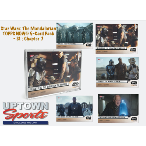 Star Wars: The Mandalorian TOPPS NOW® 5-Card Pack - S1 : Chapter 7