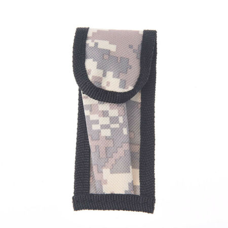 img-1pc mini small camouflage nylon sheath for folding pocket knife pouch case In@H
