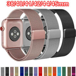 Kyпить For Apple Watch Series 6 5 4 3 2 1 Milanese Loop Band iwatch Strap 38 42 40 44mm на еВаy.соm