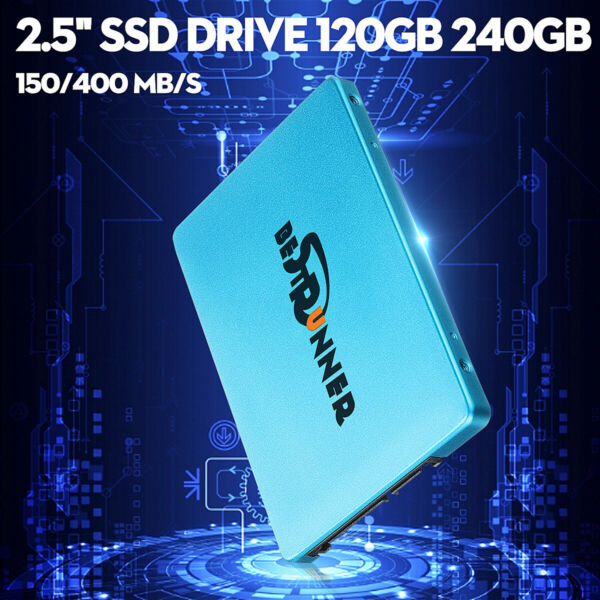 120GB 240GB Solid State Drive 2.5'' SSD SATA III Hard Drive for Laptop PC Lot