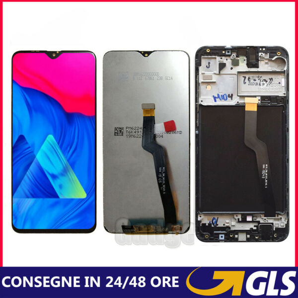 SAMSUNG GALAXY A10 2018 SM-A105F/FN/DS TOUCH SCREEN DISPLAY LCD VETRO SCHERMO