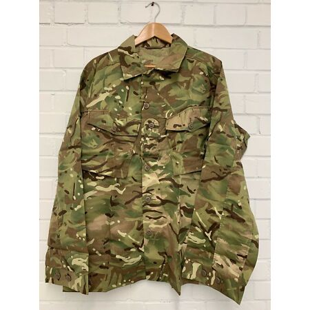 img-MTP CAMO TROPICAL COMBAT BUTTON UP JACKET SHIRT - 190/112cm , British Army NEW