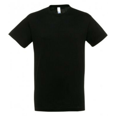 img-Novelty Black 100% Cotton T Shirt with White Vinyl - Various designs