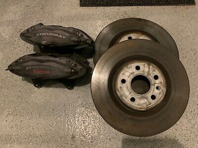 2010-2015 Chevrolet Camaro SS Brembo Front Brakes Calipers,Rotors & Pad GM - OEM