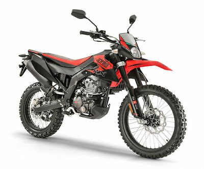 Aprilia RX 125 ABS 2019 RED BRAND NEW - EURO4 IN STOCK NOW