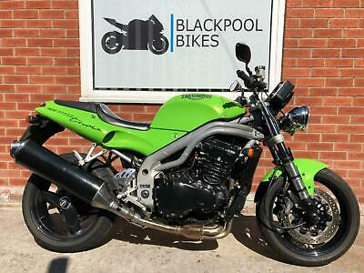1999 - TRIUMPH SPEED TRIPLE 955I - T509 - EXCELLENT CONDITION - LONG MOT - S/H