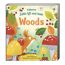 Usborne Little Lift and Look Woods by Anna Milbourne (Board Book) FREE ship$35