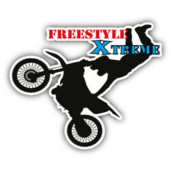 Freestyle Extreme Sport Car Bumper Sticker Decal - ''SIZES''
