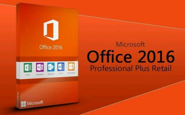 Office 2016 Professional Plus 32/64 bit Licenza Originale ESD tramite e-mail