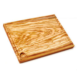 Chopping Board,Carving Board, Olive Wood + Groove for Juices Extra Large to Max.