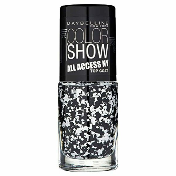 France New York Colorshow All Access Ny Vernis à Ongles Paillettes Blanc/No