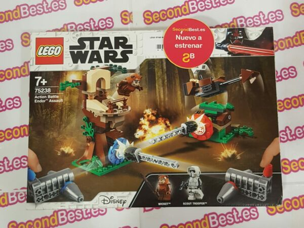 EspagneLego Star Wars 75238 Action Battle Endor Assault Neuf