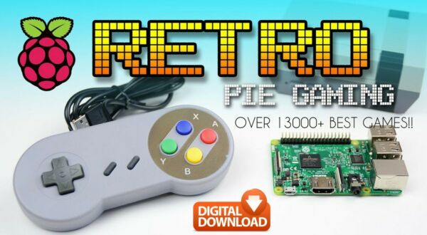 Retropie recalbox pi4 rom retrogame Raspberry 64GB image ready fast download