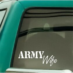 Army Military Family Relative Decal Stickers