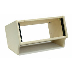 Kyпить 4 Space (4U) | Unfinished Baltic Birch Angled Desktop Rackpod Turret Studio Rack на еВаy.соm