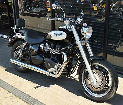 * SOLD * 2009 TRIUMPH SPEED MASTER 865 * ONLY 1,530 MILES COVERED *