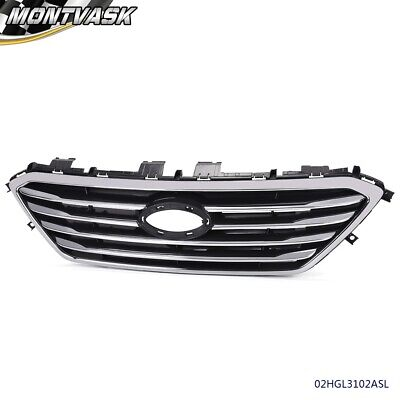 For 2015 2016 Hyundai Sonata Factory Style Front Upper Bumper Grille Grill