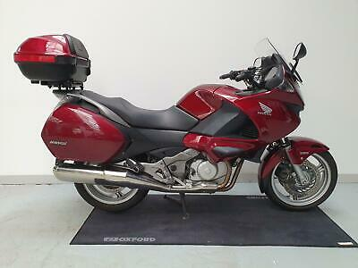 HONDA NT 700 DEAUVILLE 2010 RED TOP BOX SHAFT DRIVE PANNIERS TOURING