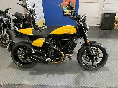 2019 Ducati Scrambler 800 Full Throttle (Ever Red Wty + 12 Months)