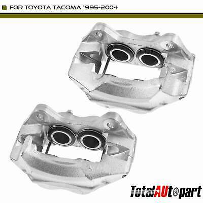 2x Disc Brake Caliper w/o Bracket Front Both Sides for Toyota Tacoma 1995-2004