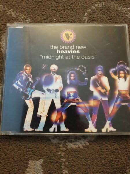 BRAND NEW HEAVIES MIDNIGHT AT THE OASIS CD SINGLE 4 TRACKS