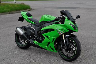 ***STUNNING 2009 KAWASAKI ZX6R R9F LOW MILEAGE ONLY 7553 PX WELCOME***