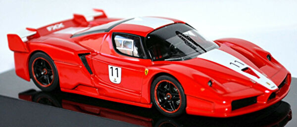 AllemagneFerrari Fxx F140 Coupé 2005-06 #11 Rouge Rouge 1:43 Hot Wheels Elite