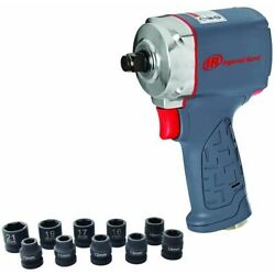 Ingersoll Rand 35MAXKS 1/2'' Ultra-Compact Impact Wrench Kit with Sockets