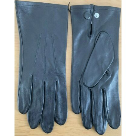 img-British Army Issue Womens Black Leather Services Lined Gloves