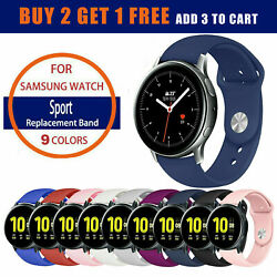 Quick Release Silicone Sport Watch Strap for Samsung Galaxy Watch Band 42mm 46mm
